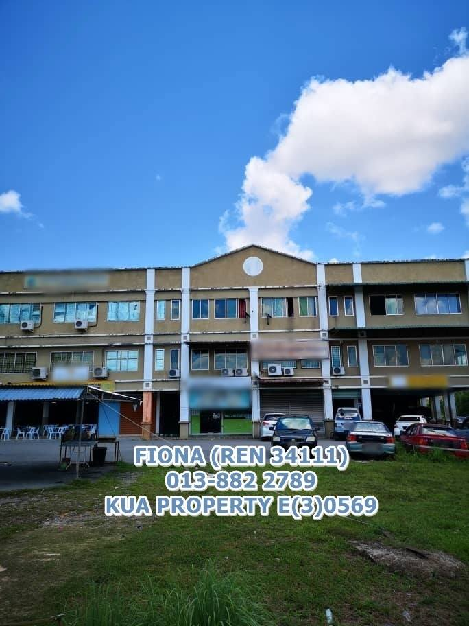 3 Storey Shoplot For Sale Taman Gamang Height, Sri Aman