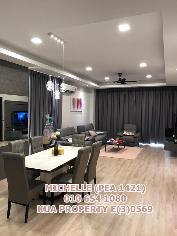 Room For Rent at The Park Residence Tabuan Tranquility