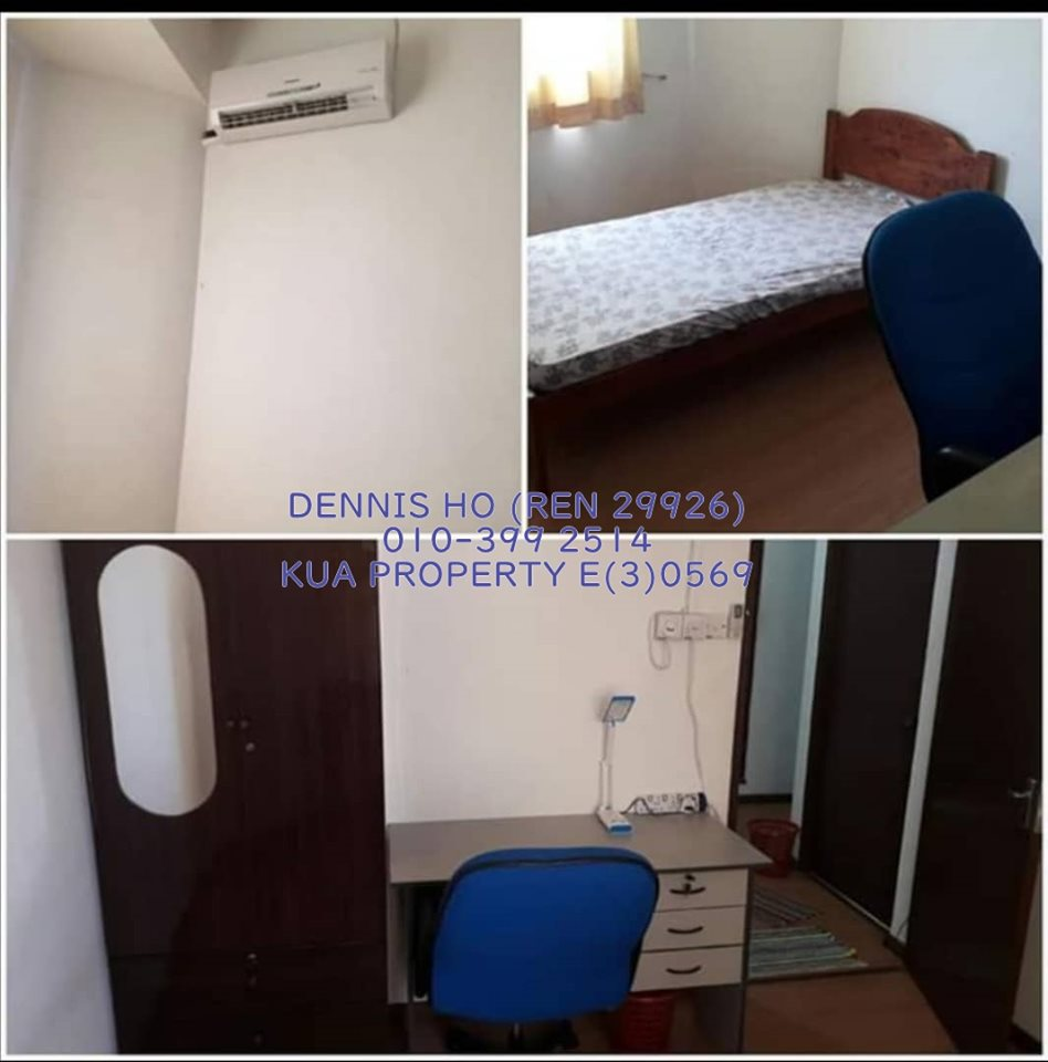 Room For Rent at Jalan Wan Alwi with Fully Furnished