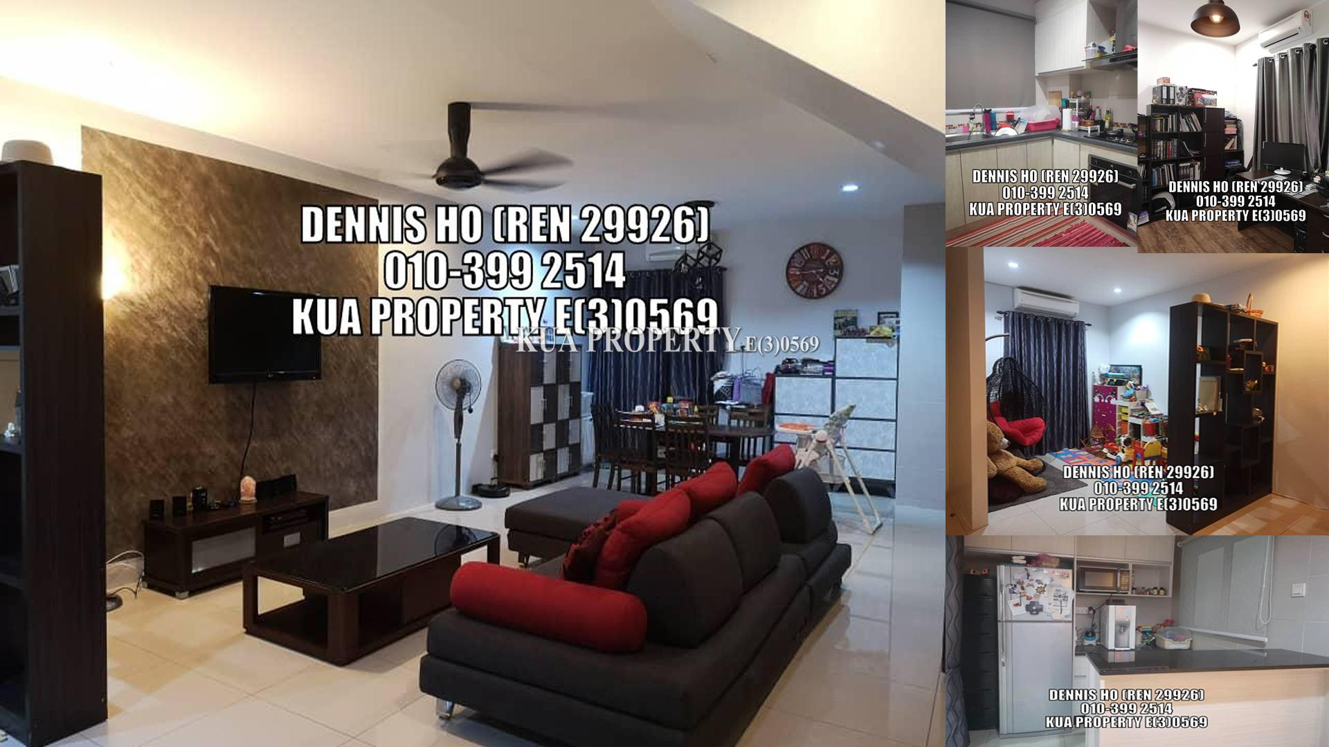 Double Storey Terrace Intermediate House For Sale! at Tabuan Tranquility Phase 4