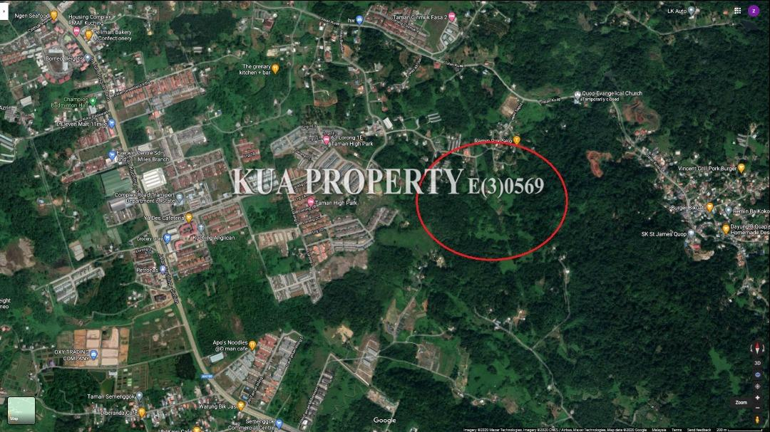 Native Land For Sale at Jalan Kuap