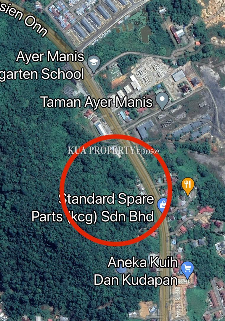 Land For Sale at Kuching Serian Road