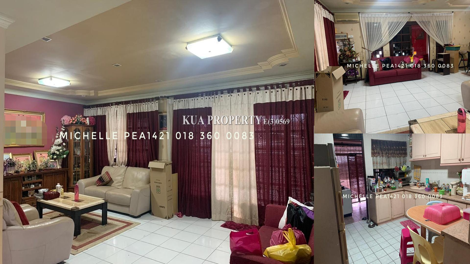 Double Storey Terrace Corner House For Sale at Tabuan Height