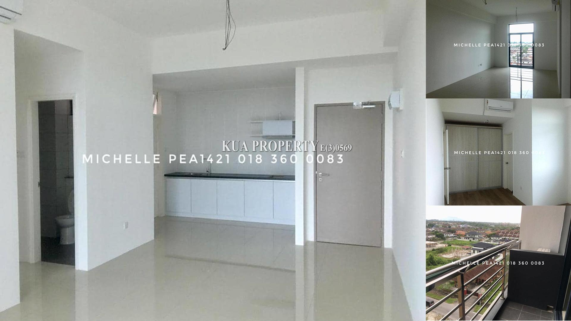 Corner unit Laticube Apartment For Sale at Everbright Park, Kuching
