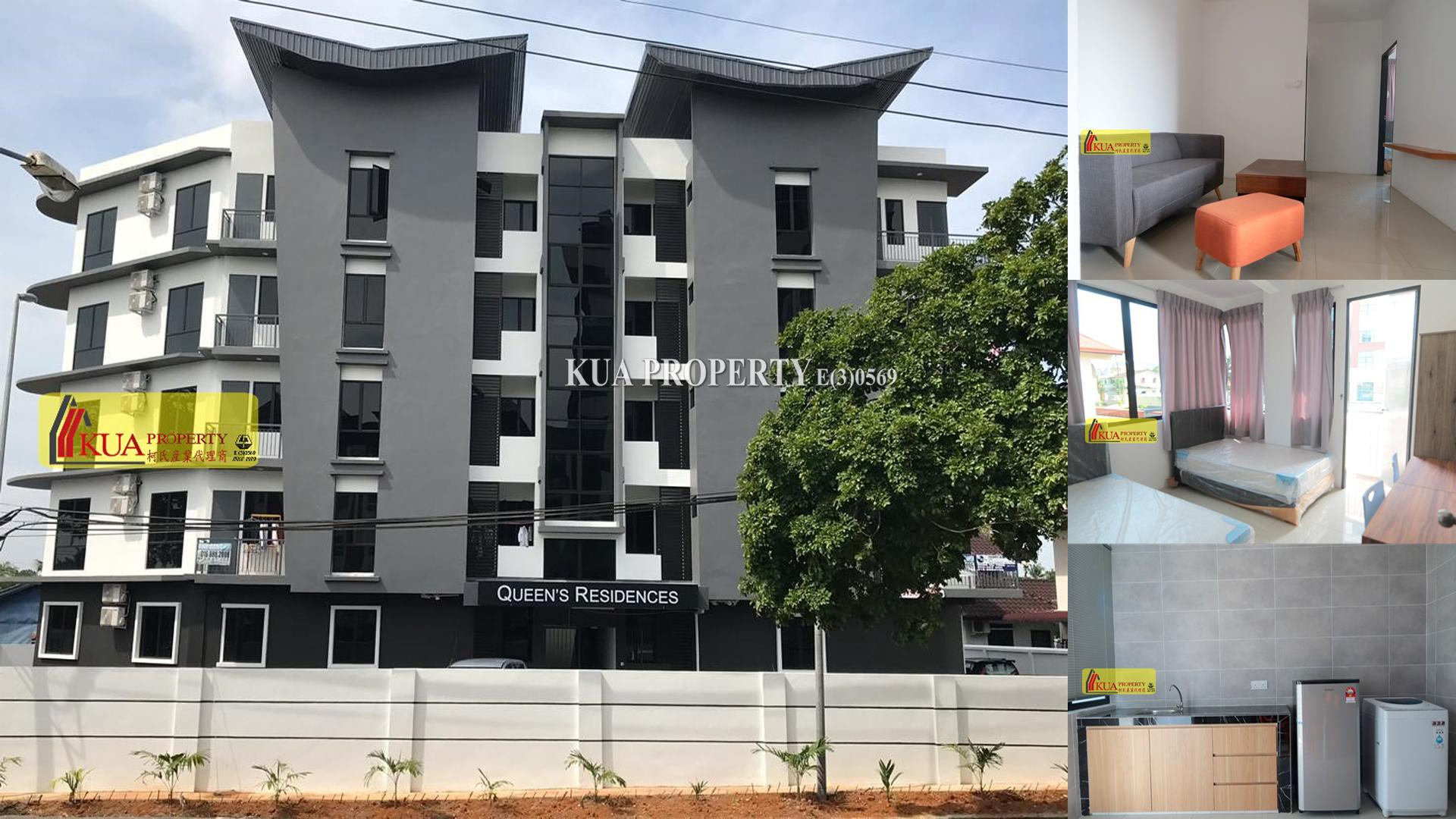 Queen's Residence Apartment For Rent at Jalan Tabuan Dayak