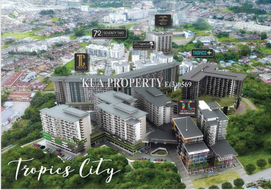 Tropics City New Apartment unit For Sale at Jalan Song