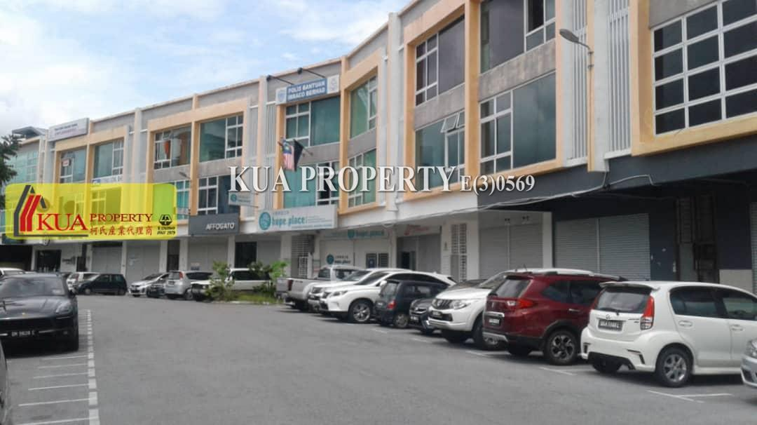Ground Floor and 1st Floor Shoplot For Rent at Tabuan Tranquility