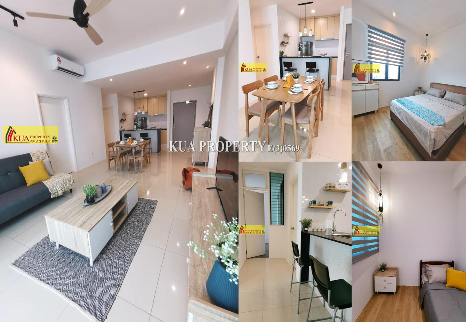 Level 8 Brand New Laticube Apartment For Sale at Jalan Brurung Lilin EverBright Park