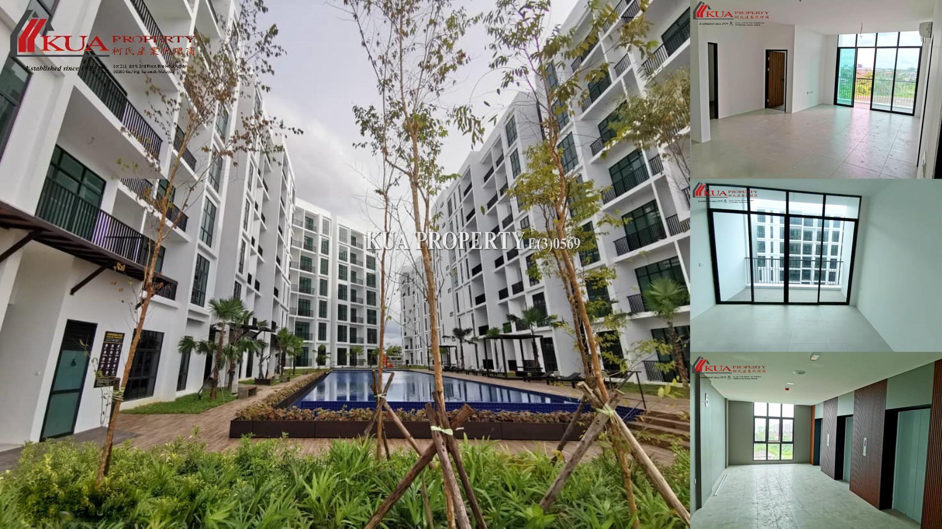 Brand New Yarra Park Apartment (Corner unit) For Sale at Jalan Dogan Batu Kawa